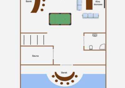 Dom na Linową Zatoką na Mazurach