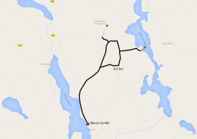Szlaki rowerowe w Dłużcu